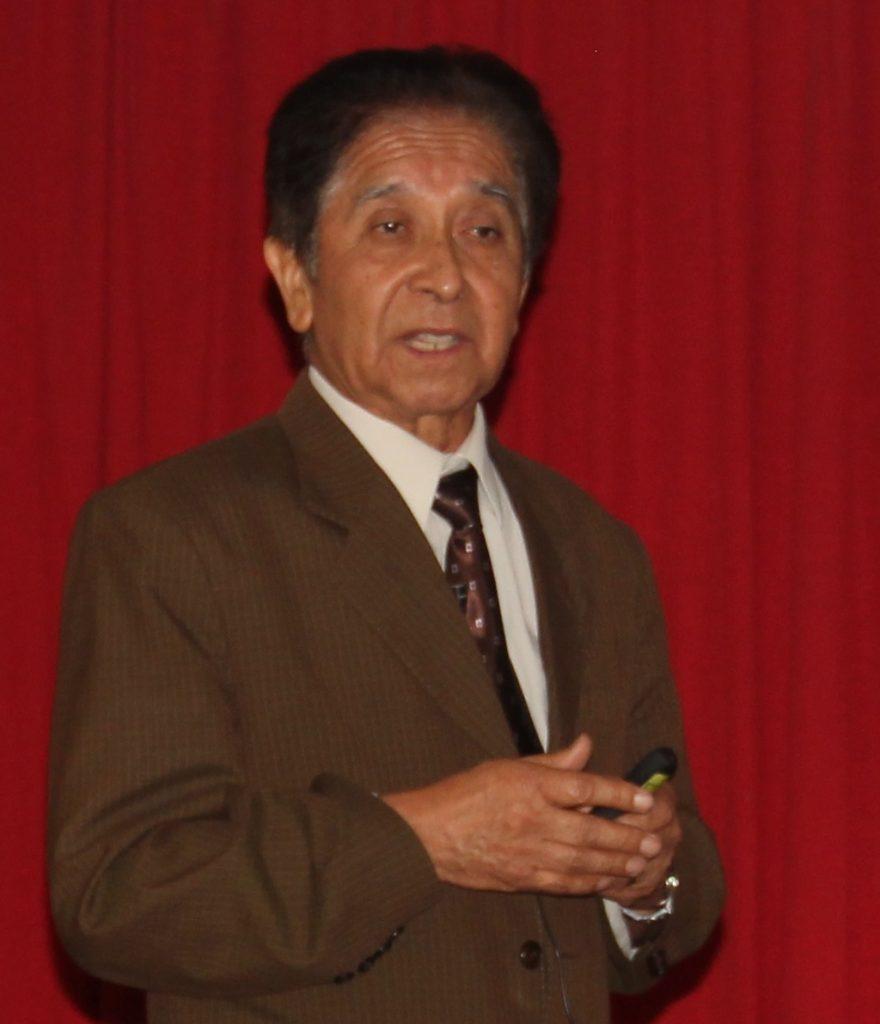 Guillermo Medina, funcionario del proyecto Iniciativa de Oro responsable