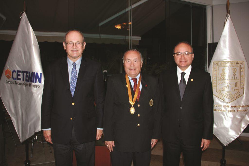 Raúl Benavides, Mario Cedrón y Víctor Gobitz (Foto: ProActivo)