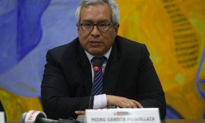 Pedro Gamboa, Presidente del SERNANP / Foto: Andina