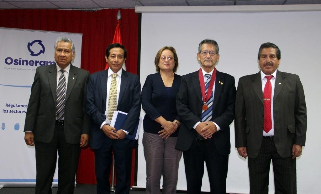 César Lavado, Víctor Carlos Estrella, Marita Chappuis, Benjamín Jaramillo y Fidel Misari. (Foto: ProActivo)