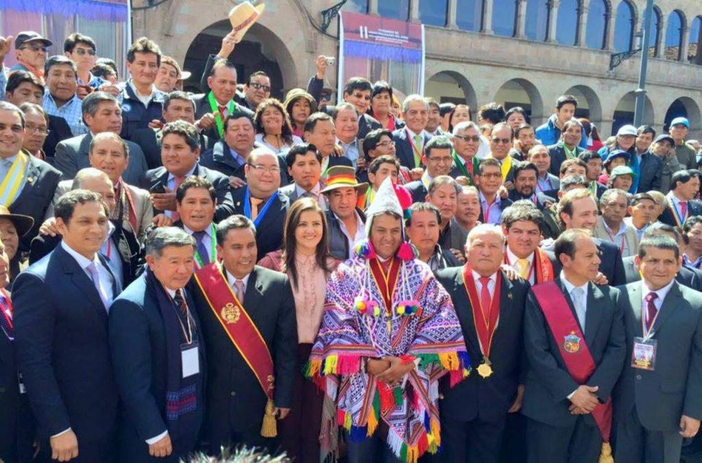 Gobernadores regionales / Foto: Andina