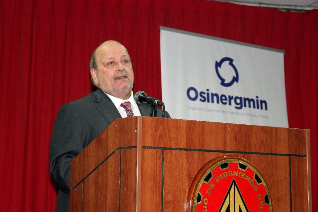 Jesús Tamayo Pacheco, presidente de Osinergmin. (Foto: ProActivo)