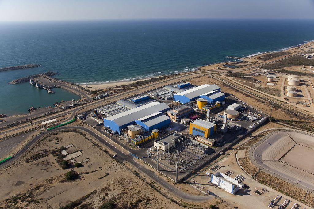 Resultado de imagem para ashkelon desalination plant