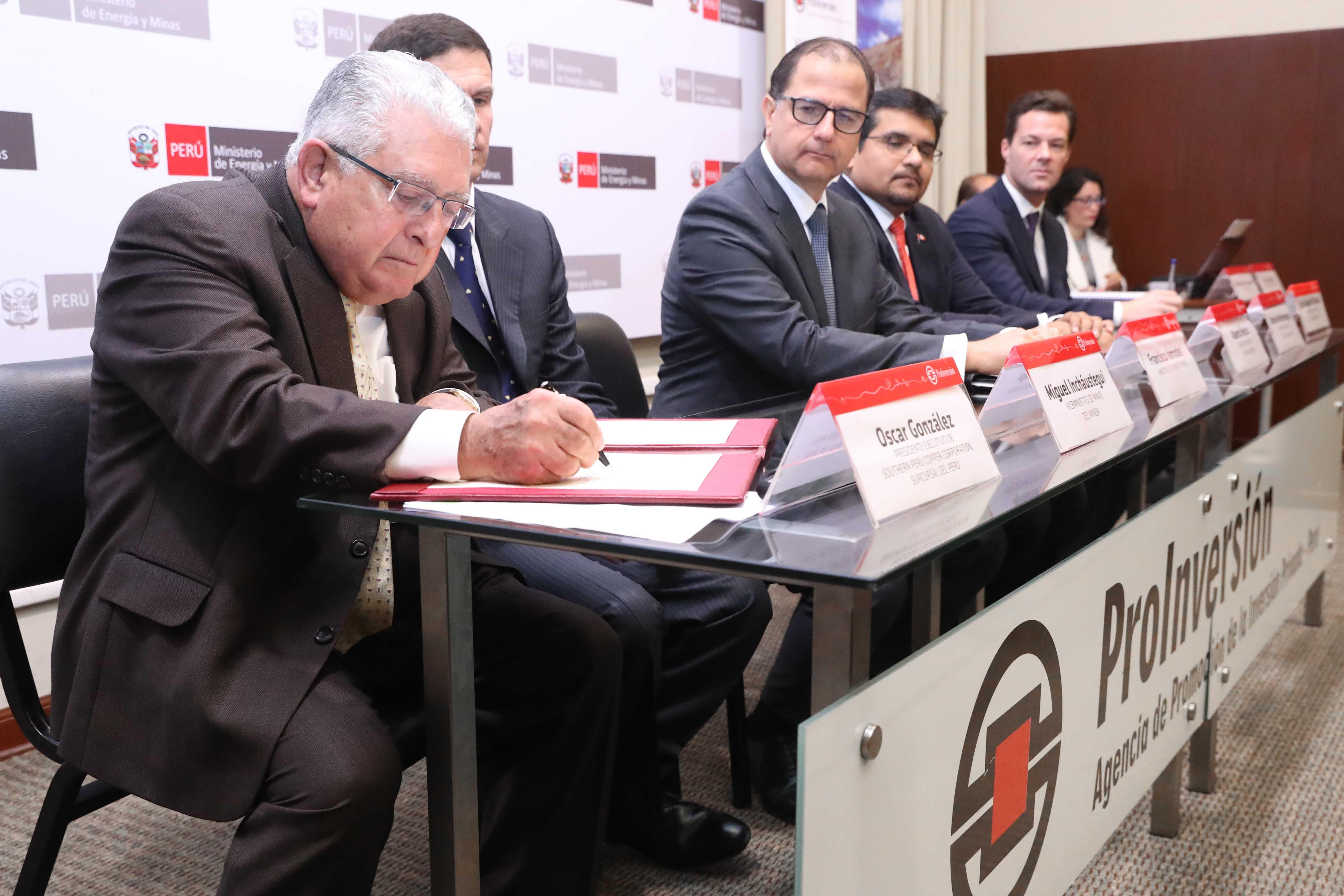 Óscar González Rocha, presidente de Southern Peru