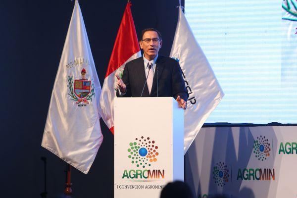 Martín Vizcarra: La minería y agricultura pueden coexistir e impulsar el progreso del país