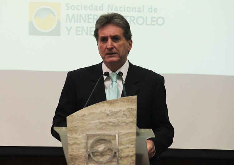 Pablo de la Flor, gerente general de SNMPE