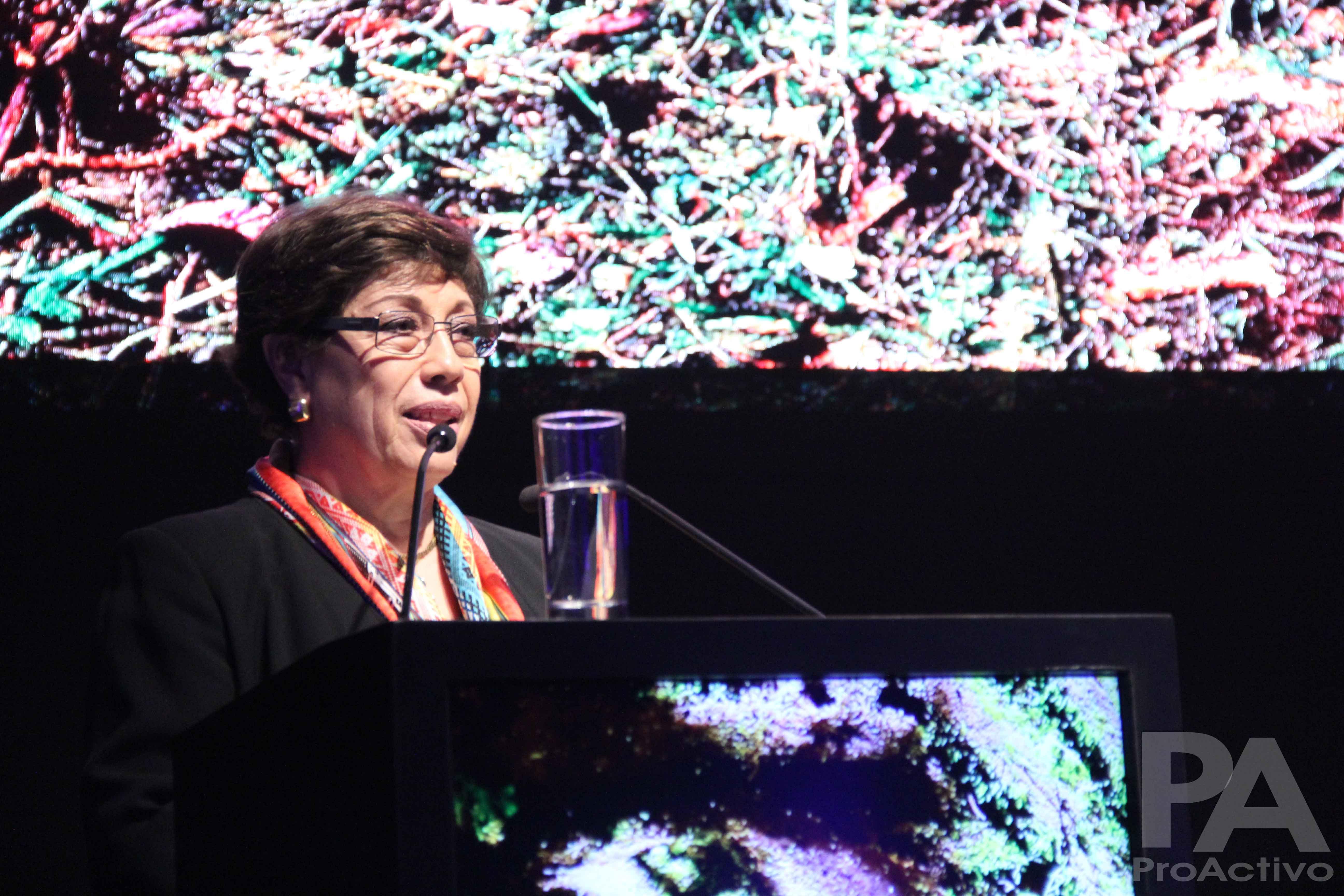 Eva Arias, Presidenta del Directorio de Compañía Minera Poderosa