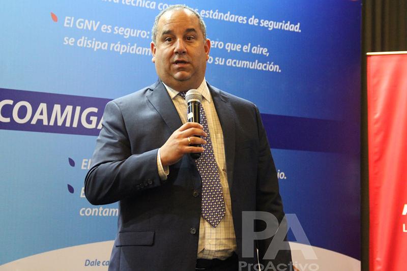 Jorge Luis Ramos, gerente general de Contugas.