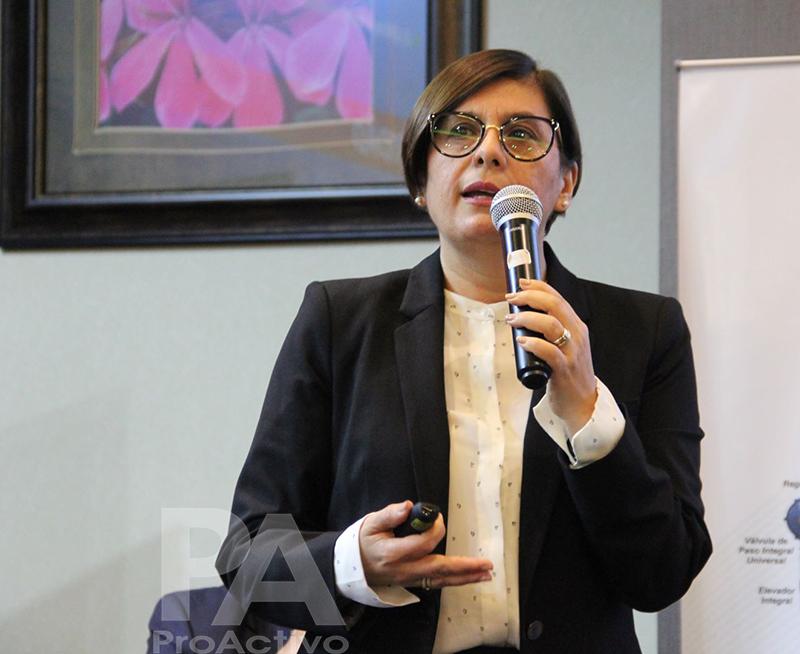 María Aybar, gerente general de Perú LNG.