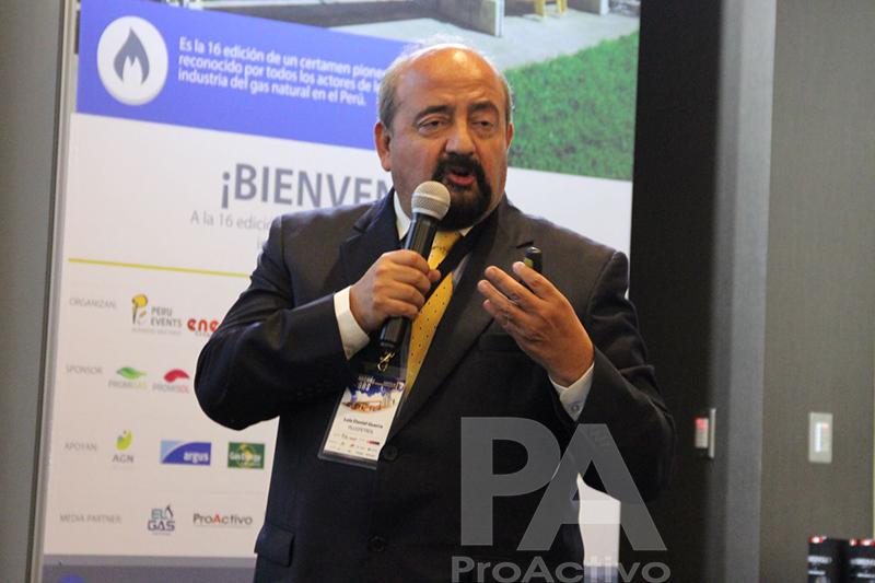 Luis Daniel Guerra, gerente de Asuntos Gubernamentales de Pluspetrol.