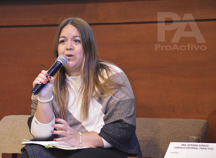 Adriana Aurazo, Consejo Editorial ProActivo.