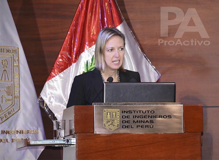 Anna Ferry, Embajadora de Suecia en Perú.