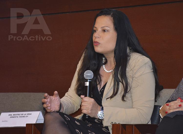 Beatriz De la Vega, Socia de Ernest& Young EY