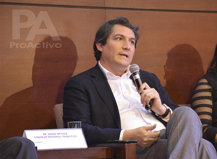 Diego Ortega, Vicepresidente de Asuntos Corporativo de Anglo American.