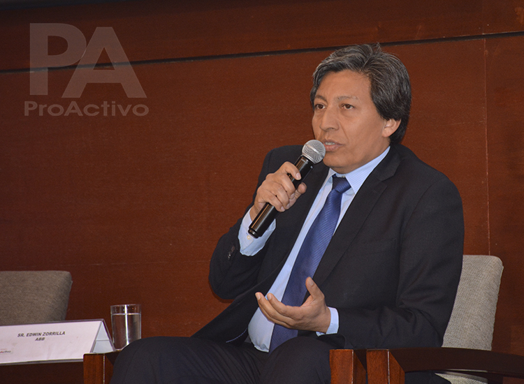 Edwin Zorrilla, Gerente de Marketing de ABB.