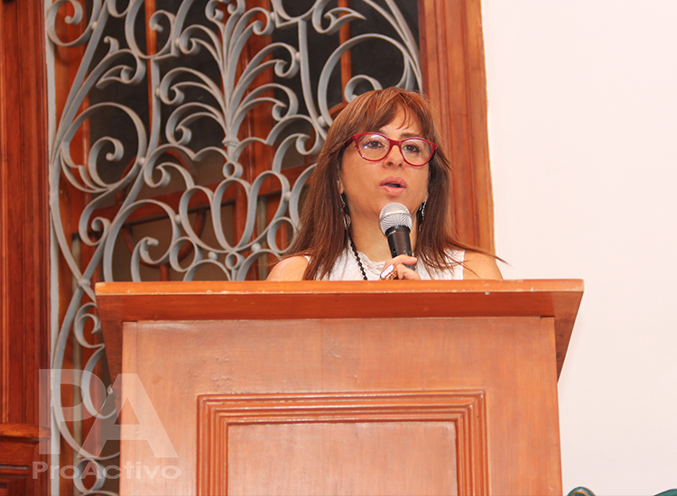 Elena Burga Cabrera, viceministra de Interculturalidad