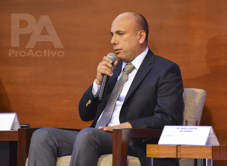 Marco Santos, Gerente de Relaciones Institucionales Regionales Las Bambas.