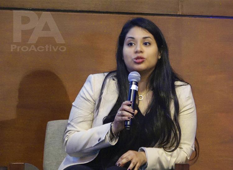 Paola Campos, Subgerente de Financiamiento de Infraestructura de la Gerencia de Negocios de COFIDE.