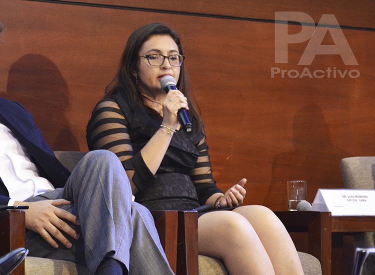 Selene Abanto, Coordinadora de Proyectos Sociales de Gold Fields.
