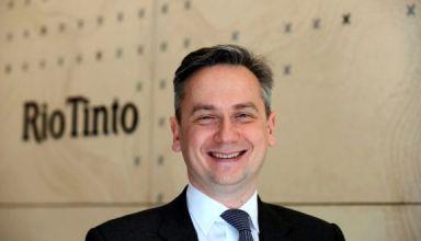 Jean-Sebastien Jacques, CEO de Rio Tinto (Foto: Reuters)