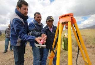 Antapaccay inicia construcción de trocha carrozable en Alto Huarca