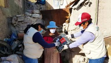 Southern distribuye kits de abrigo, víveres y mascarillas a más de 4,000 adultos mayores