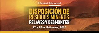 Disposición de Residuos Mineros, Relaves y Desmontes