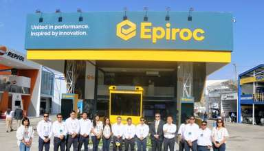 EPIROC auspició el Premio Nacional de Minería en PERUMIN 34 Convención Minera