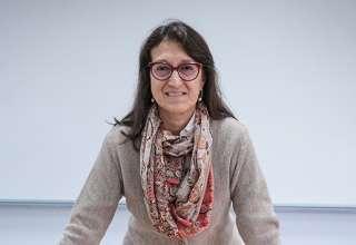 """Roxana Barrantes Cáceres, presidenta de la """"Comisión para el Desarrollo Minero Sostenible""""."""