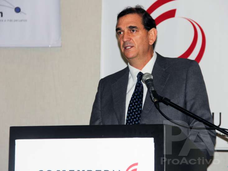 Alfonso Bustamante Canny, presidente de ComexPerú.