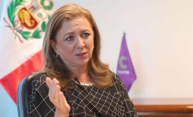 María Isabel, presidenta de la CONFIEP.