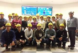 Alumnos de la Universidad Nacional de Ingeniería conocieron la labor de la Refinería Conchán