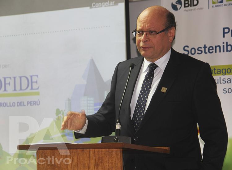 Carlos Linares, presidente de COFIDE