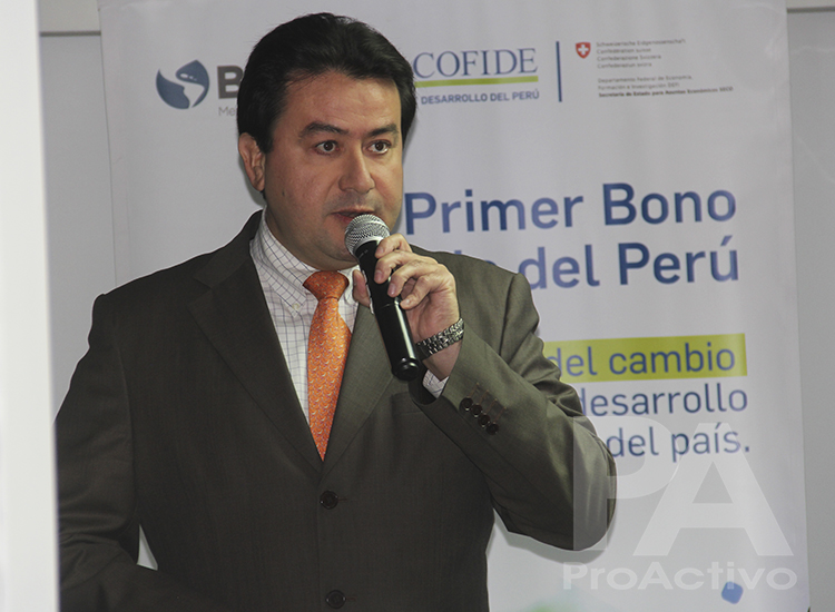 Paul Bringas, gerente general de COFIDE