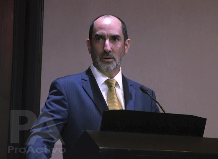 Carlos Castro, presidente de la Delegación Peruana