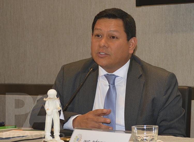 Jorge Amaya, Director General de la Dirección General Agrícola del Ministerio de Agricultura y Riego