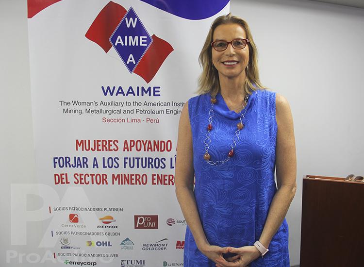Diana Rake, presidenta de WAAIME Perú