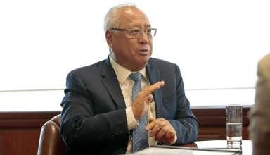 Juan Carlos Liu, ministro de Energía y Minas