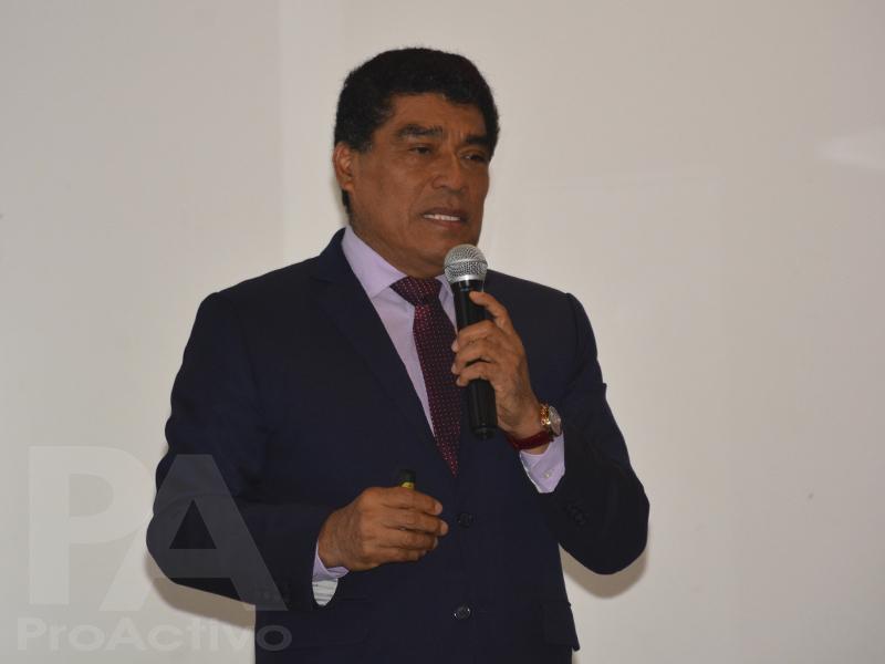 Seferino Yesquén, presidente de Perupetro
