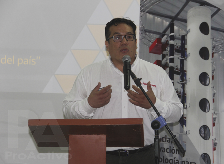 Sergio Rodríguez, director ejecutivo del ITP