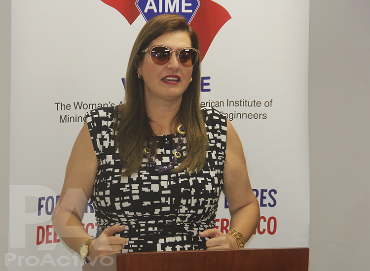 Susana Palomino, vicepresidenta de WAAIME Perú