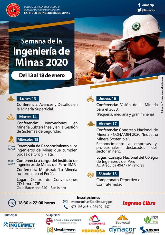 Semana de la Ingeniería de Minas 2020