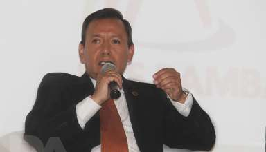 Edgardo Orderique, gerente general de Las Bambas.