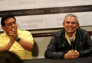 Josée Luna y Luis Castañeda