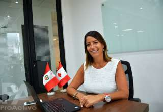 Carla Martínez, gerente general de la Cámara de Comercio Canadá - Perú
