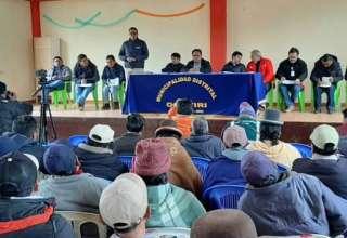 Mesa de diálogo Ocuviri y Vila Vila