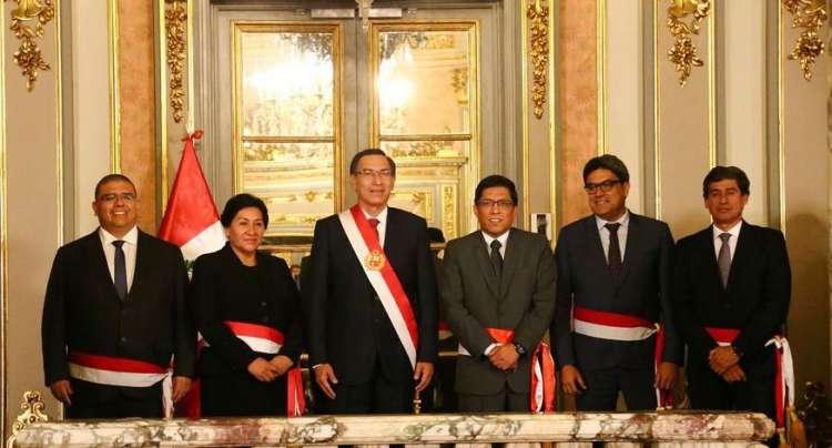 Nuevos ministros