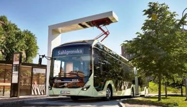 ABB y Volvo pondrán a circular 157 nuevos autobuses eléctricos en Suecia