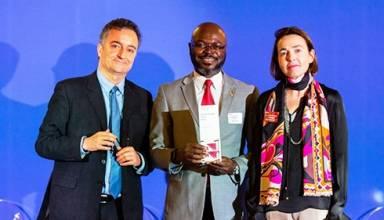 ACCIONA recibe premio CDP