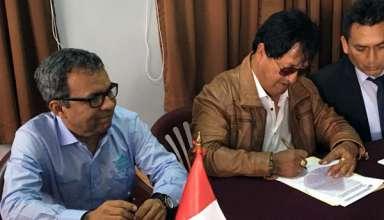 Antamina y Dirección Regional de Transportes firman Convenio para el mantenimiento de la vía San Marcos – Ayash